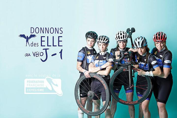 CBA soutient le projet : Donnons des elles au vélo