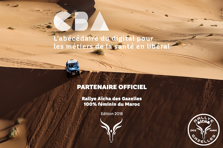 CBA partenaire officiel du Rallye Aïcha des Gazelles