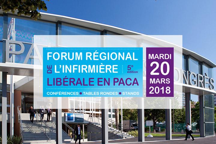 Forum régional de l'infirmière libérale en Paca 2018