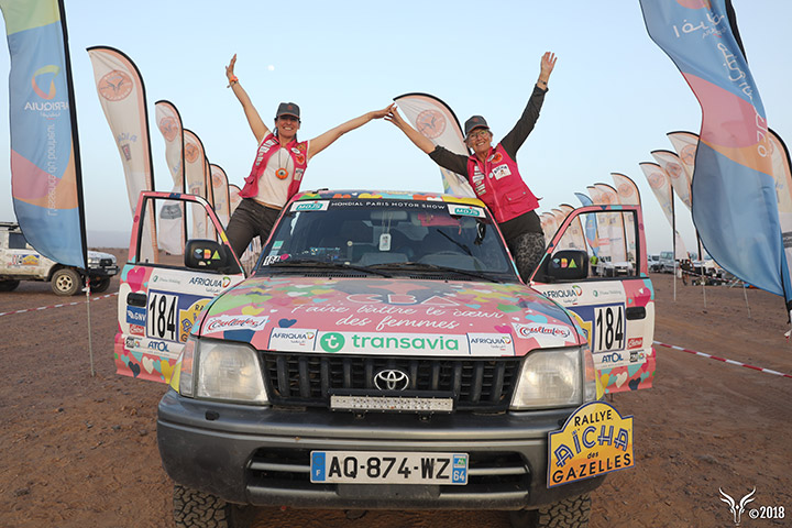 Bilan du partenariat entre CBA et le Rallye Aicha des Gazelles