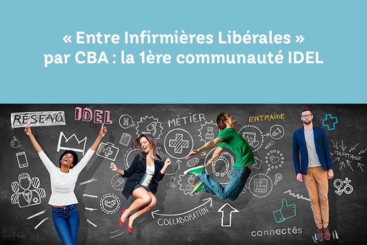 Page Facebook Entre Infirmières Libérales, 1ère communauté d'IDEL