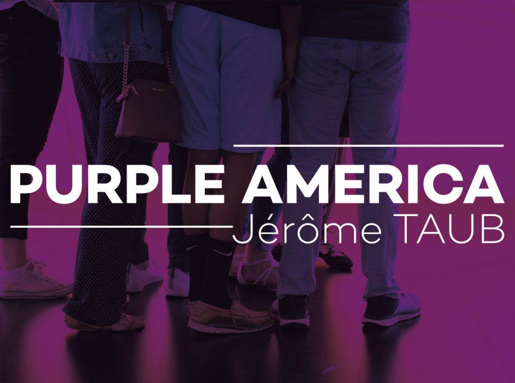 Exposition Purple America de Jérôme Taub