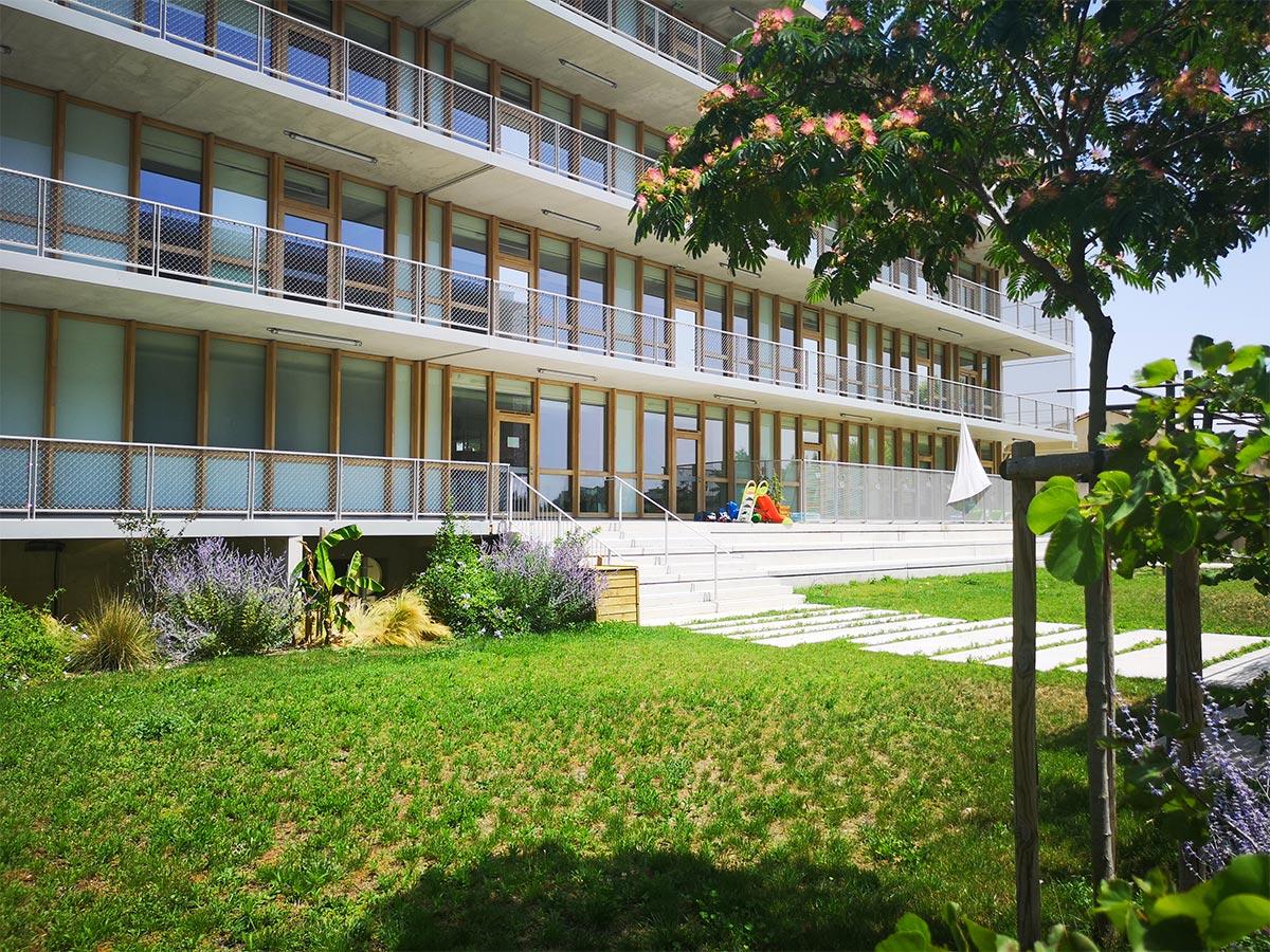 Le jardin de CBA à Agroparc