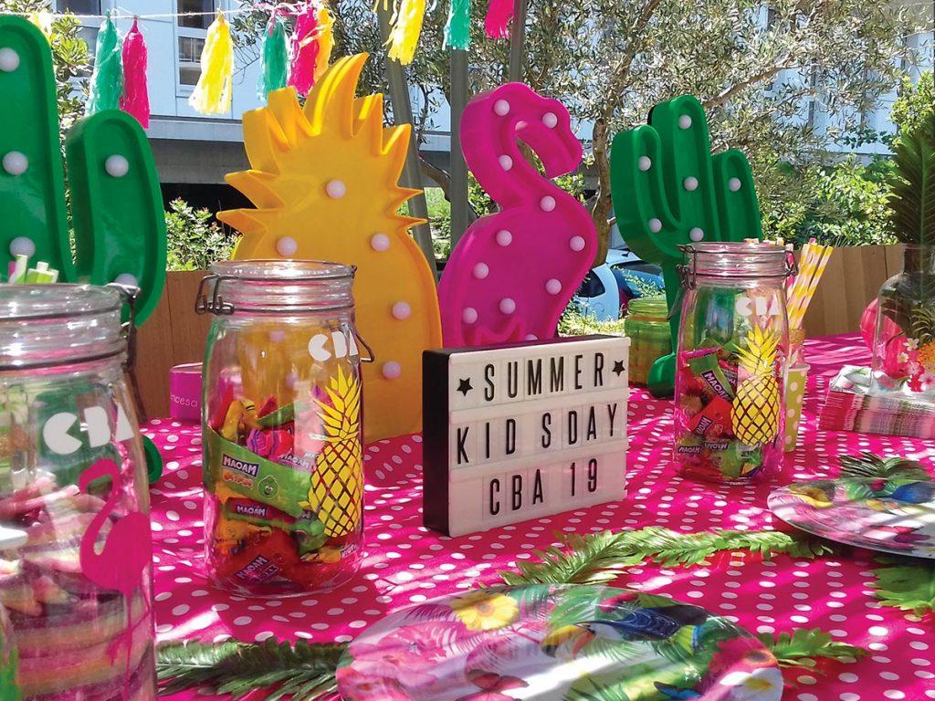 Le Kids Day de CBA est dédié aux enfants des salariés