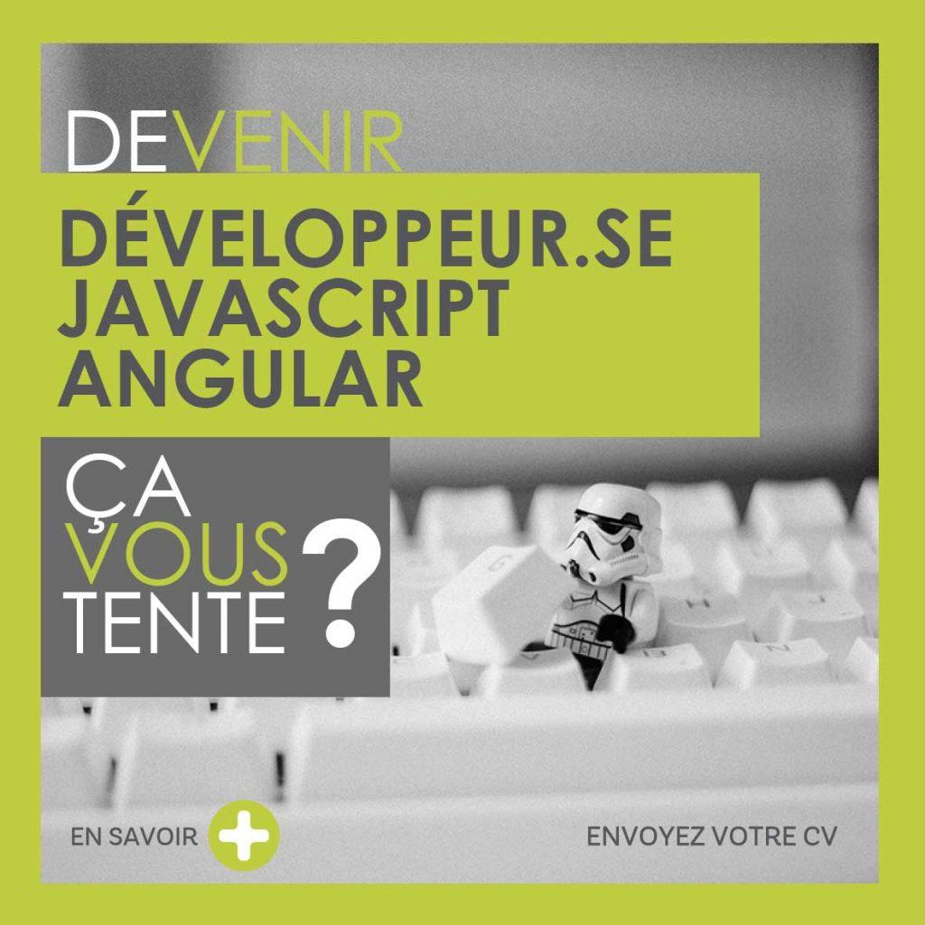 Devenir Développeur.se Javascript Angular