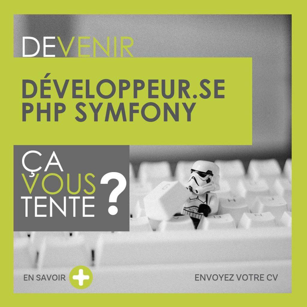 Devenir Developpeur.se PHP Symfony