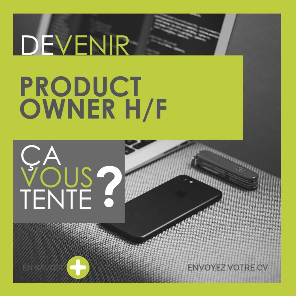 Devenir Product Owner H/F